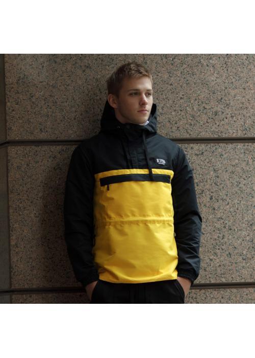 Анорак Delta 2.0 Черный-Желтый 3001DLT купить по цене 550 грн. в Украине — интернет-магазин Modesti