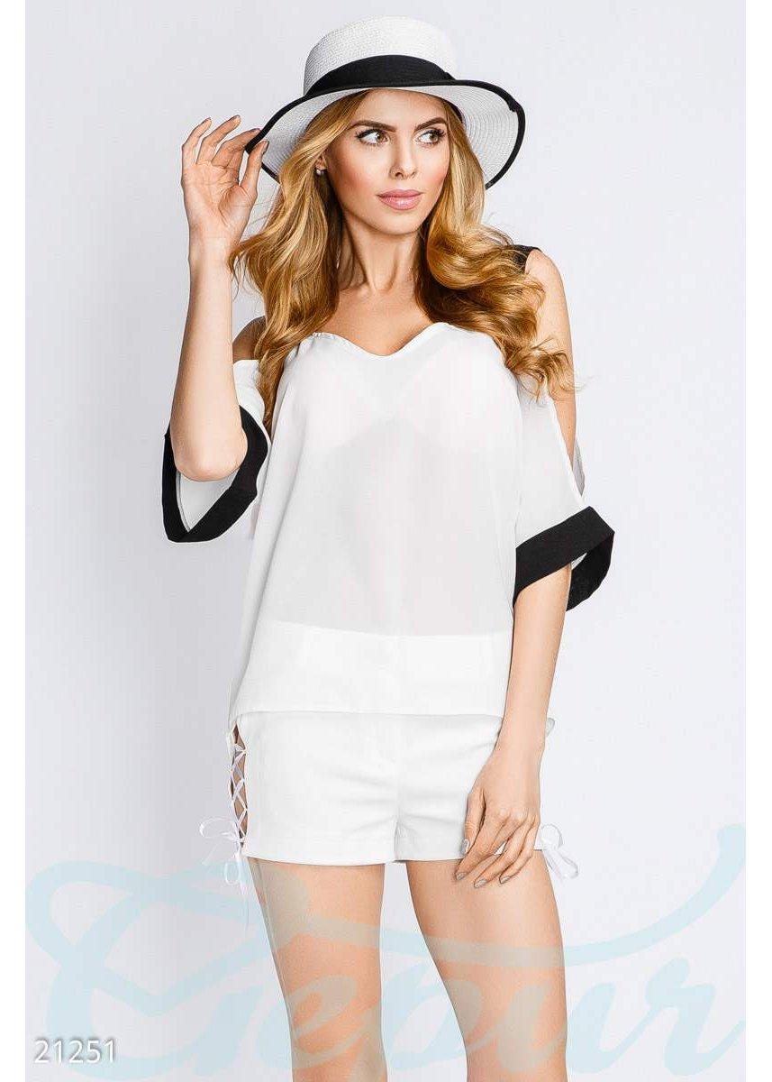 55764b4bbcb Свободная летняя блуза 21251 купить по цене 565 грн. в Украине — интернет- магазин