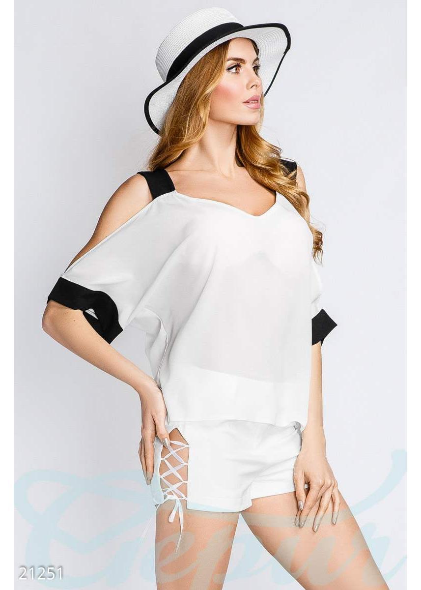 324db83295a ... Свободная летняя блуза 21251 купить по цене 565 грн. в Украине —  интернет-магазин ...