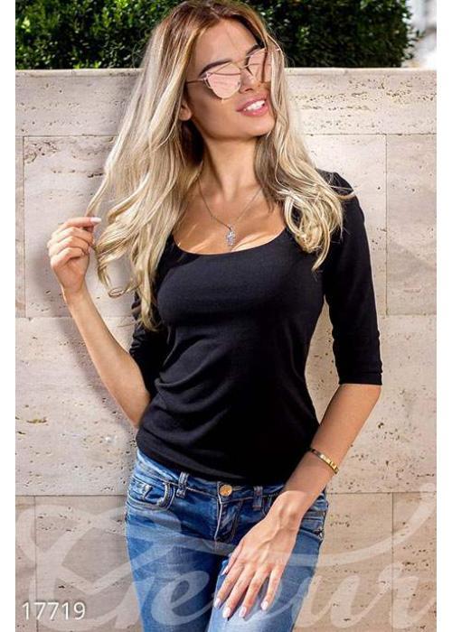 Стильная декольтированная кофта 17719 купить по цене 532 грн. в Украине — интернет-магазин Modesti