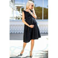 Свободное платье беременной