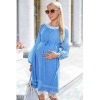 Шифоновое платье беременной