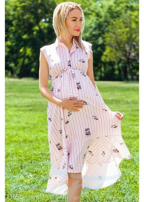Платье-миди беременной 21652 купить по цене 955 грн. в Украине — интернет-магазин Modesti