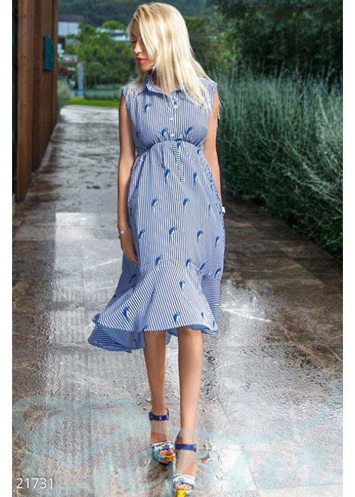 Платье-миди беременной 21731 купить по цене 955 грн. в Украине — интернет-магазин Modesti