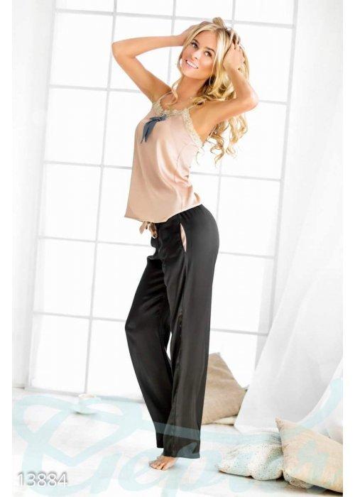 Соблазнительная атласная пижама 13884 купить по цене 974 грн. в Украине — интернет-магазин Modesti