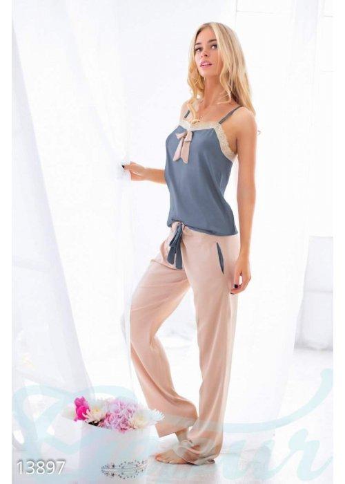 Соблазнительная атласная пижама 13897 купить по цене 974 грн. в Украине — интернет-магазин Modesti