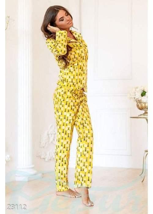 Теплая женская пижама 23112 купить по цене 1 162 грн. в Украине — интернет-магазин Modesti