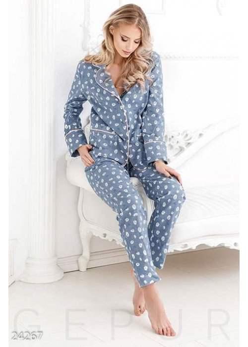 Теплая женская пижама 24267 купить по цене 1 160 грн. в Украине — интернет-магазин Modesti
