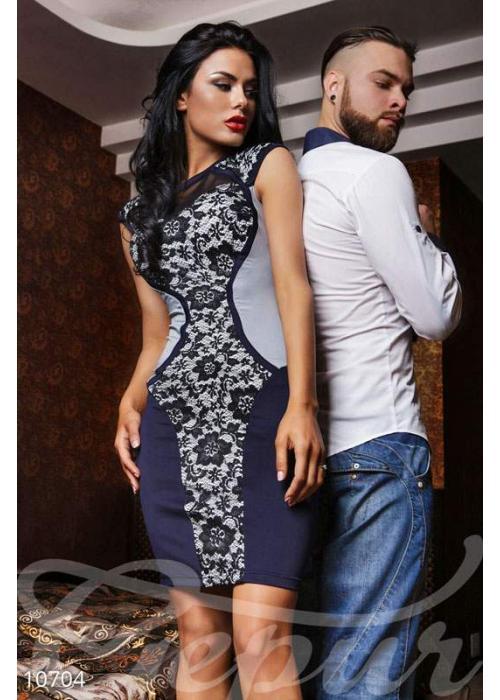 Платье подчеркивающее фигуру 10704 купить по цене 650 грн. в Украине — интернет-магазин Modesti