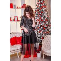 Невероятно красивое платье на Новый год