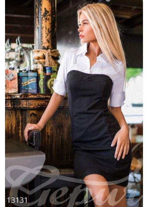 Облегающее офисное платье