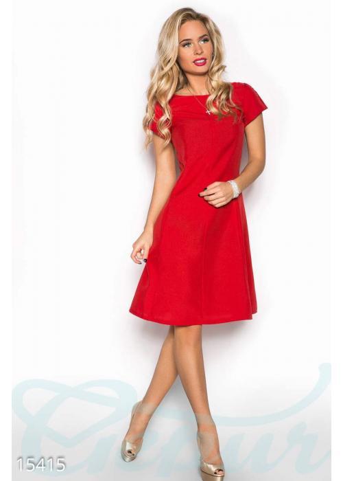 Лаконичное женственное платье 15415 купить по низкой цене в Украине — интернет-магазин Modesti