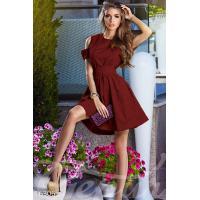 Интригующее пышное платье