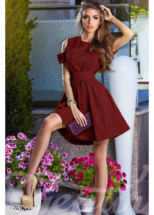 Интригующее пышное платье 16306 купить по низкой цене в Украине — интернет-магазин Modesti