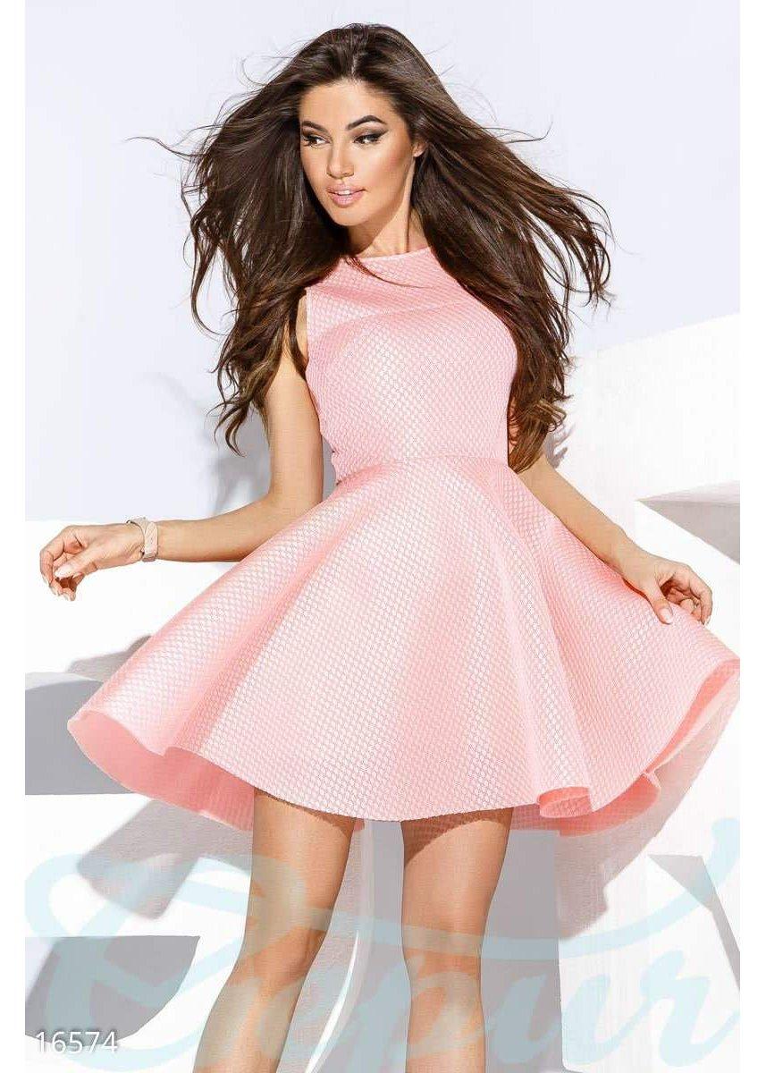 5f3ed0801ca3c55 Пышное коктейльное платье 16574 купить по низкой цене в Украине ...