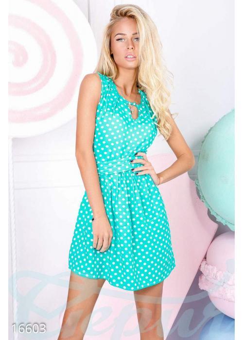 Игривое летнее платье 16603 купить по низкой цене в Украине — интернет-магазин Modesti