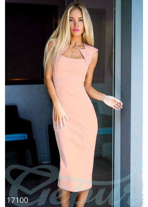 Облегающее платье футляр