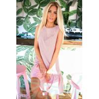 Стильное полосатое платье