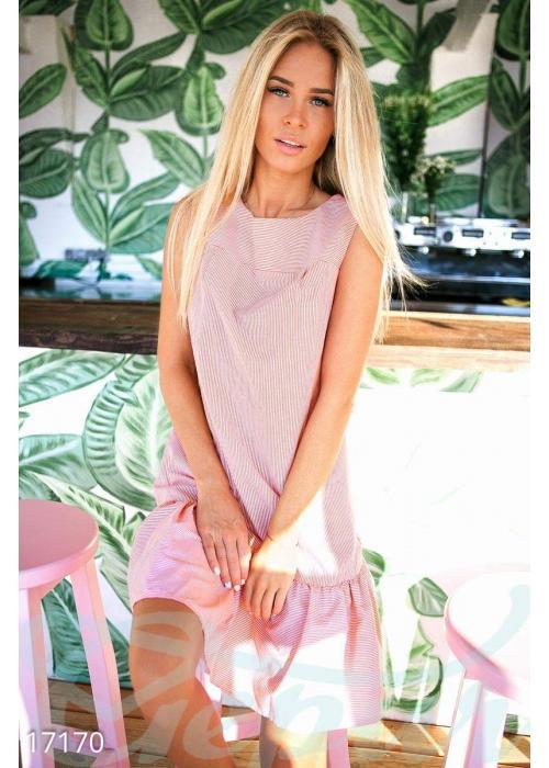Стильное полосатое платье 17170 купить по цене 660 грн. в Украине — интернет-магазин Modesti