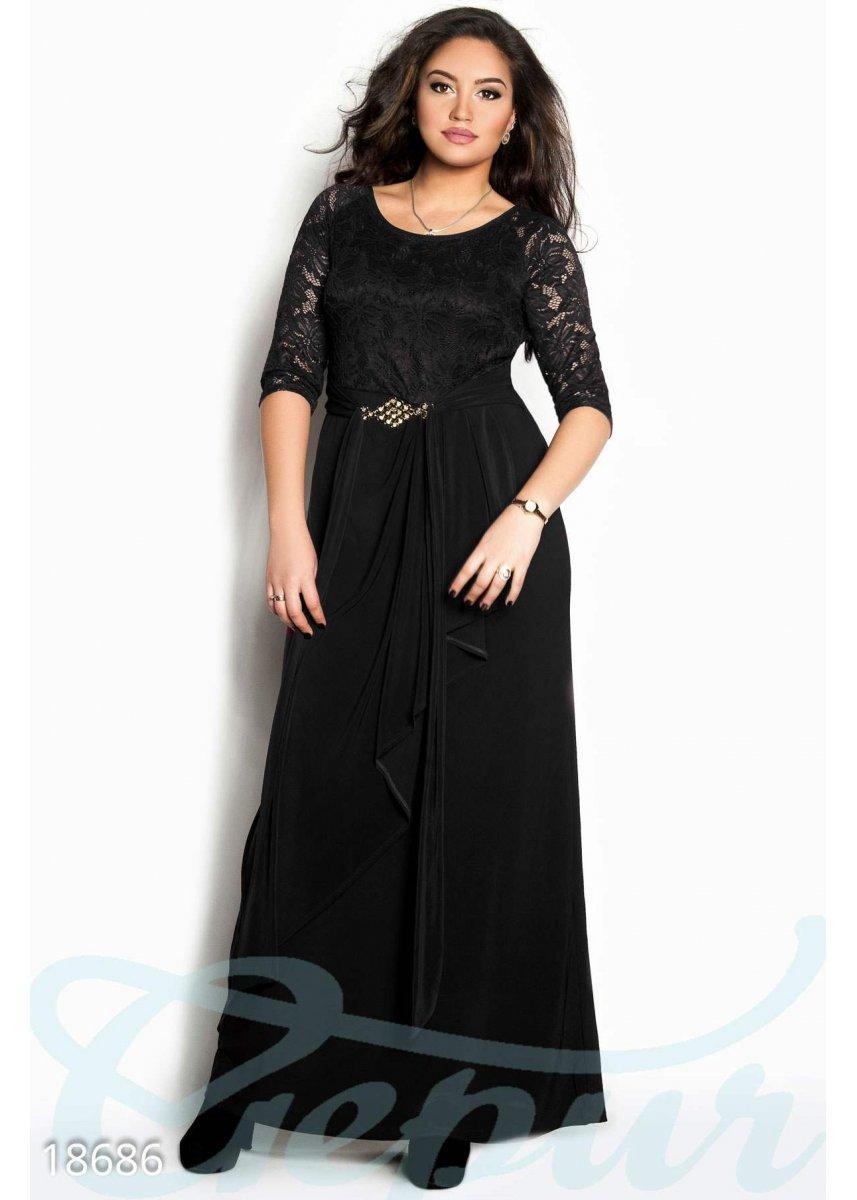 b06f7e70d02 Батальное вечернее платье 18686 купить по цене 1 250 грн. в Украине —  интернет-