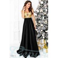 Праздничное платье декольте
