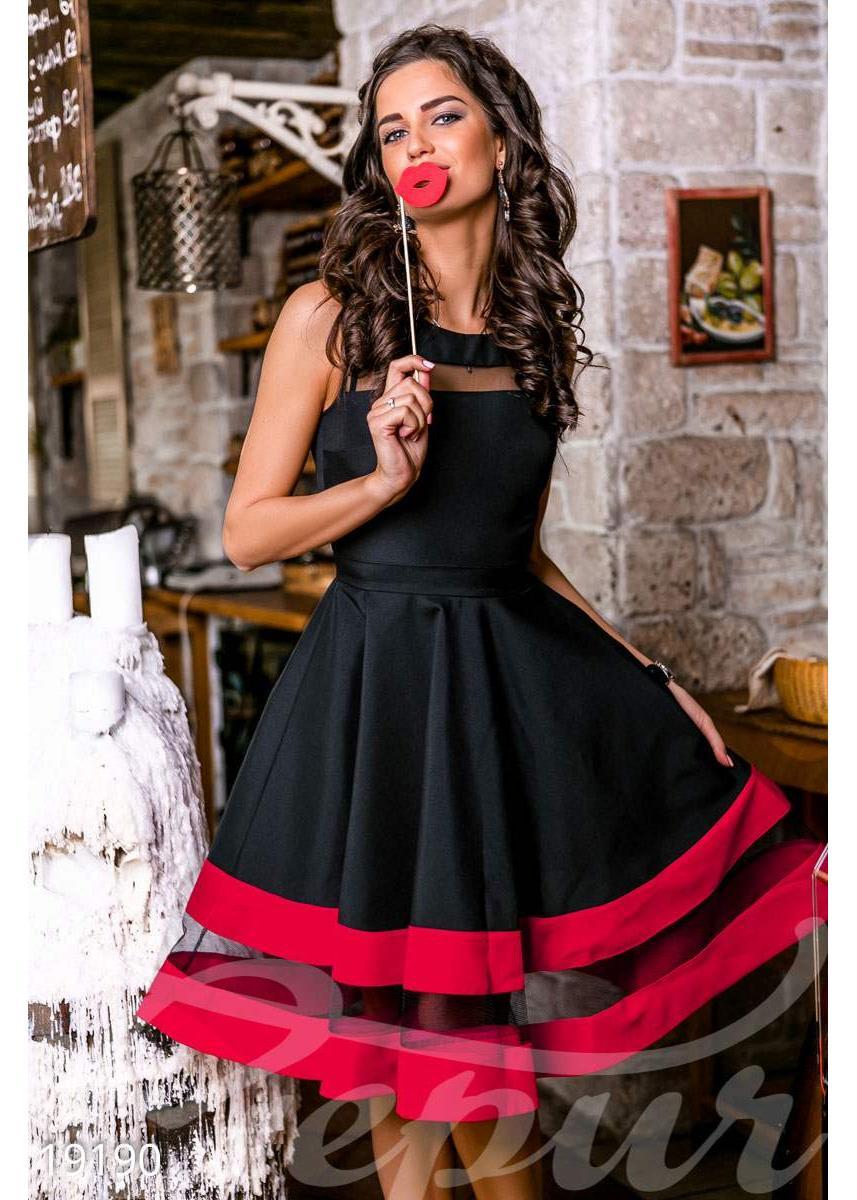 cef2d9ba9ecd250 -8% Пышное платье миди 19190 купить по цене 870 грн. в Украине —  интернет-магазин