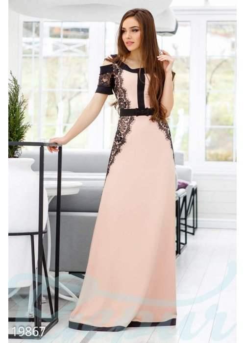 Дизайнерское вечернее платье