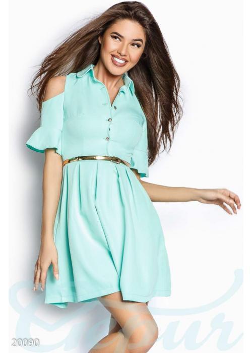 Платье открытыми плечами 20090 купить по цене 885 грн. в Украине — интернет-магазин Modesti