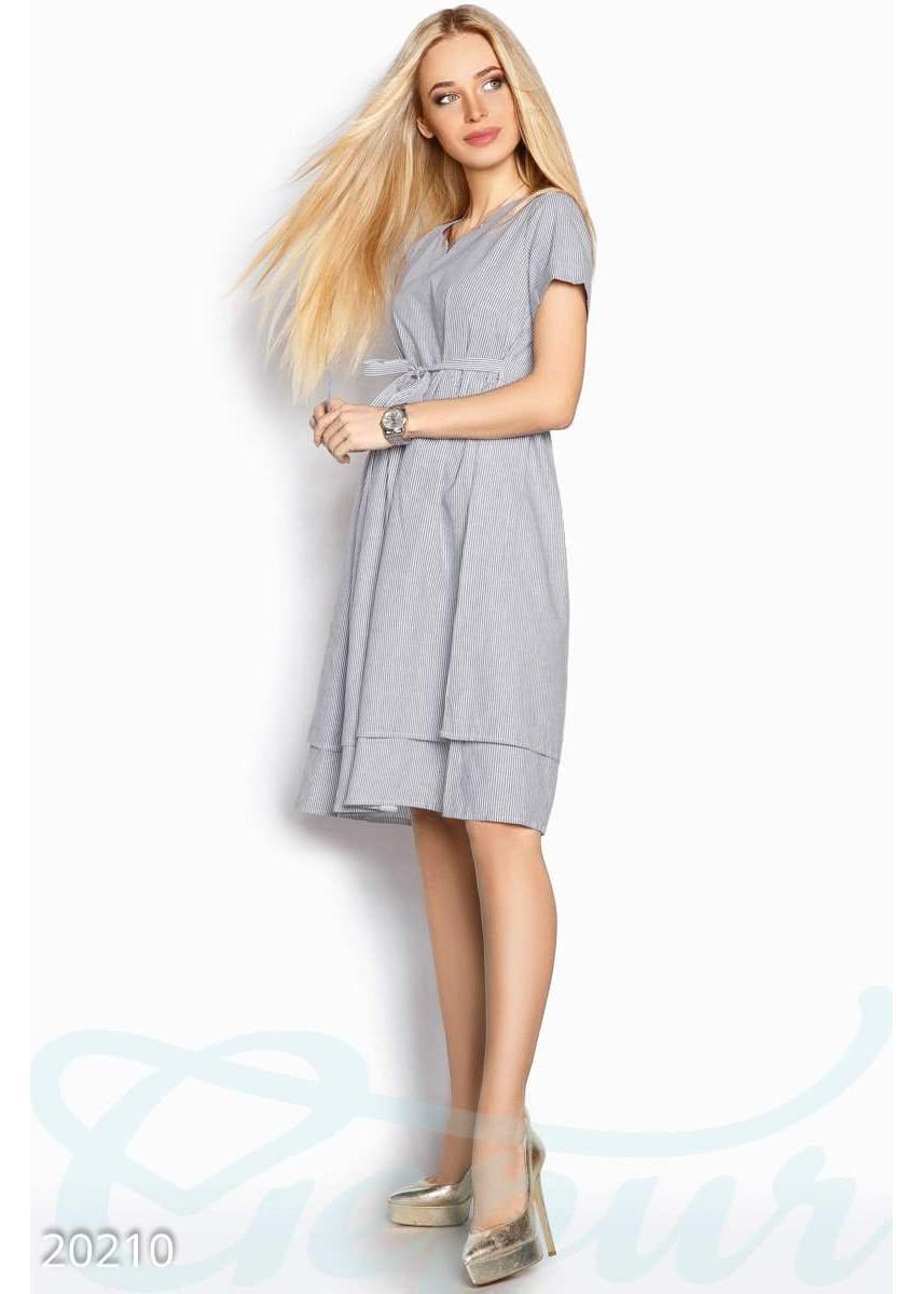 6ac55d94d0a Полосатое легкое платье 20210 купить по низкой цене в Украине ...
