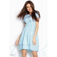 Полосатое легкое платье