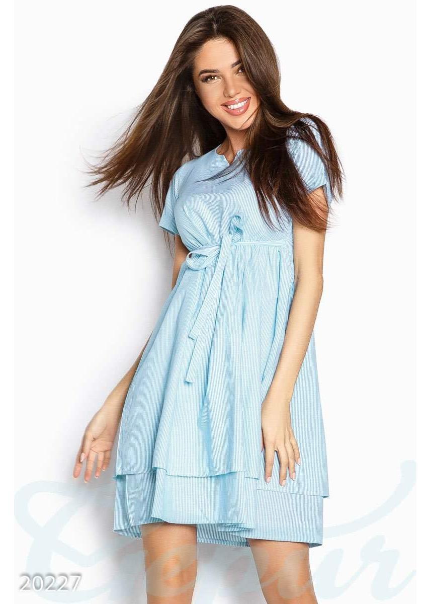 36f7b3d112c Полосатое легкое платье 20227 купить по низкой цене в Украине ...