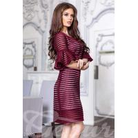 Платье неопреновая сетка