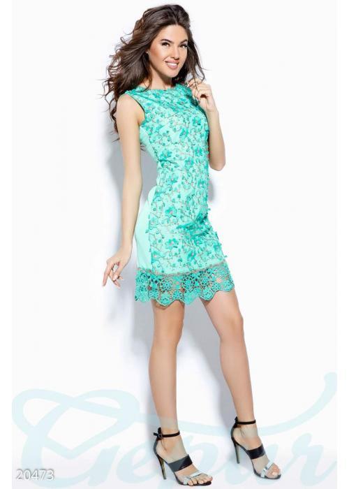 Платье с камнями 20473 купить по низкой цене в Украине — интернет-магазин Modesti