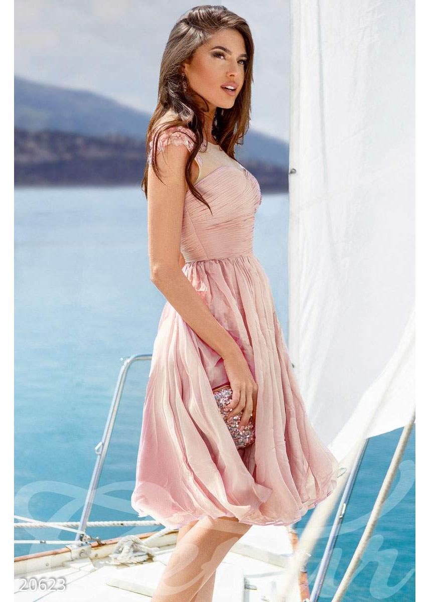 647bc2a568518ff Легкое вечернее платье 20623 купить по низкой цене в Украине ...