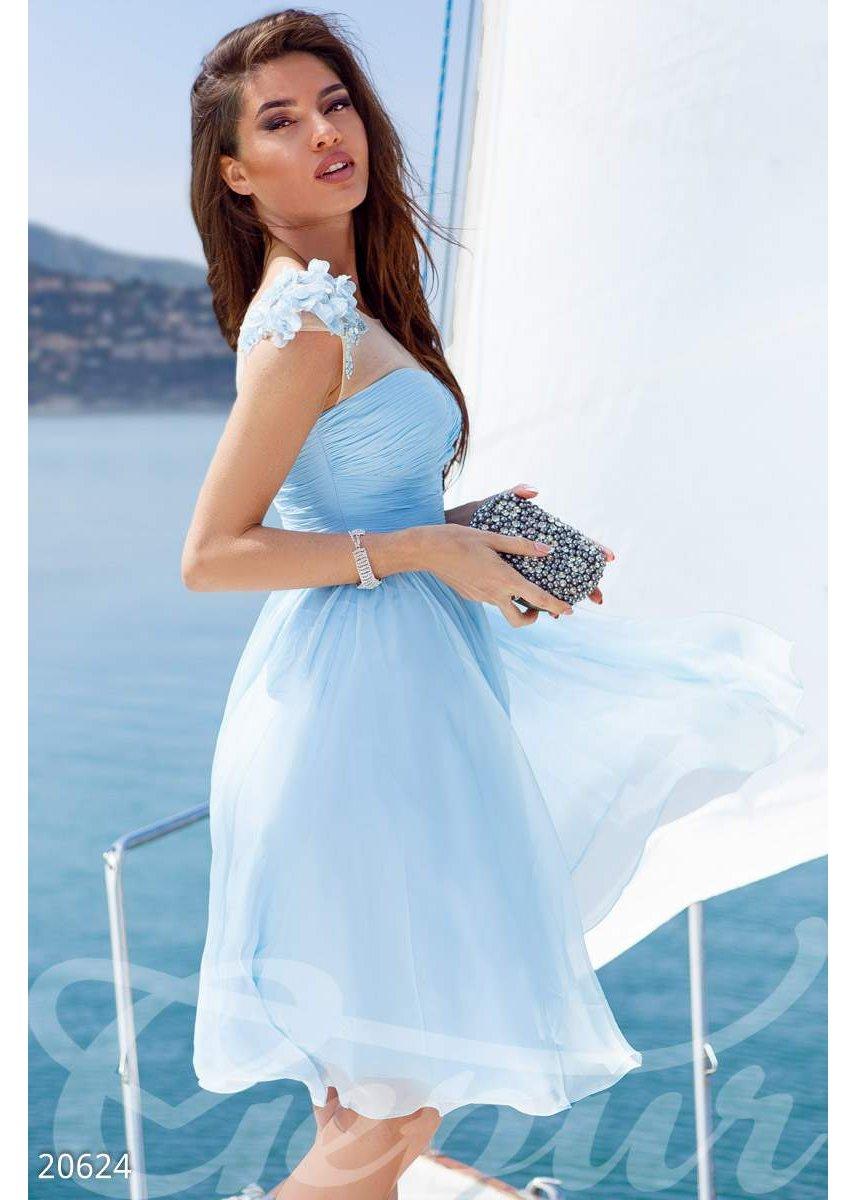 fc1f21aec7698e2 Легкое вечернее платье 20624 купить по низкой цене в Украине ...
