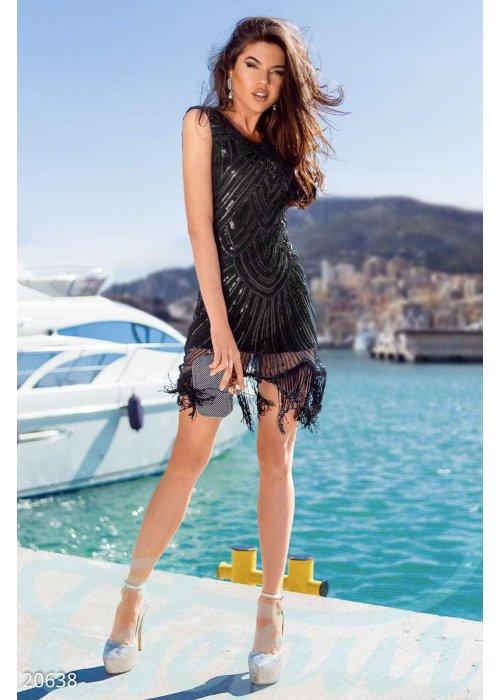 Коктейльное платье пайетки 20638 купить по низкой цене в Украине — интернет-магазин Modesti