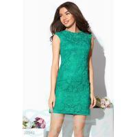 Гипюровое платье футляр