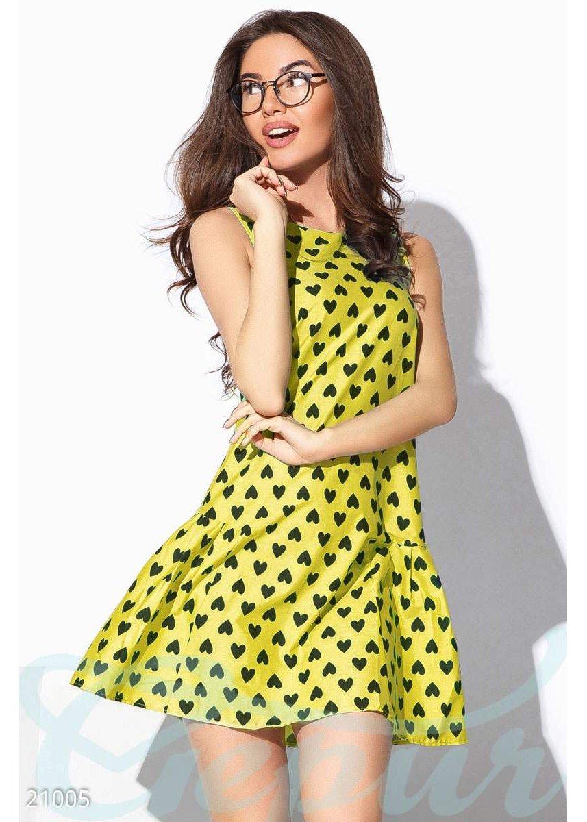 3770c26f04d Летнее платье трапеция 21005 купить по цене 735 грн. в Украине — интернет- магазин