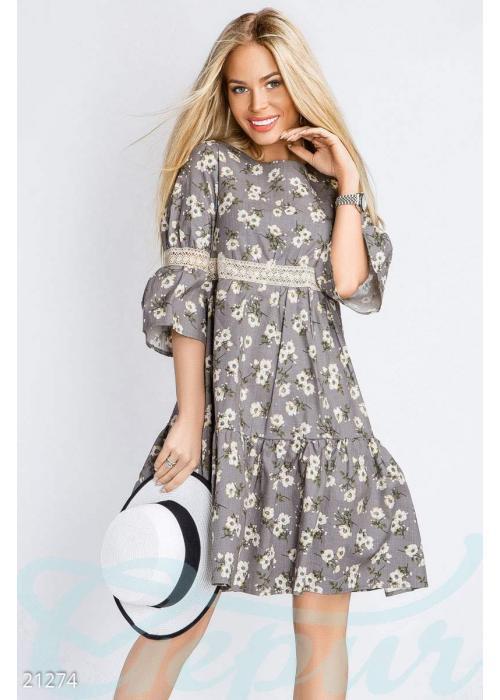 Платье из льна 21274 купить по низкой цене в Украине — интернет-магазин Modesti