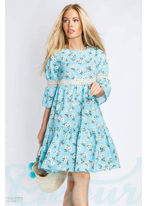 Платье из льна 21277 купить по низкой цене в Украине — интернет-магазин Modesti