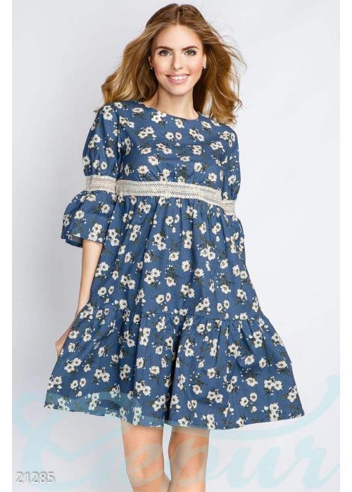 Платье из льна 21285 купить по низкой цене в Украине — интернет-магазин Modesti