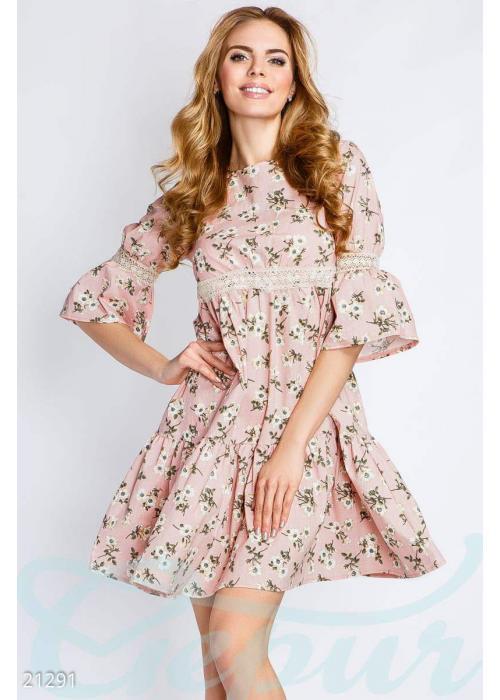 Платье из льна 21291 купить по цене 800 грн. в Украине — интернет-магазин Modesti