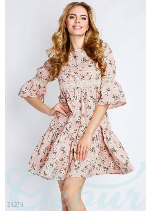 Платье из льна 21291 купить по низкой цене в Украине — интернет-магазин Modesti