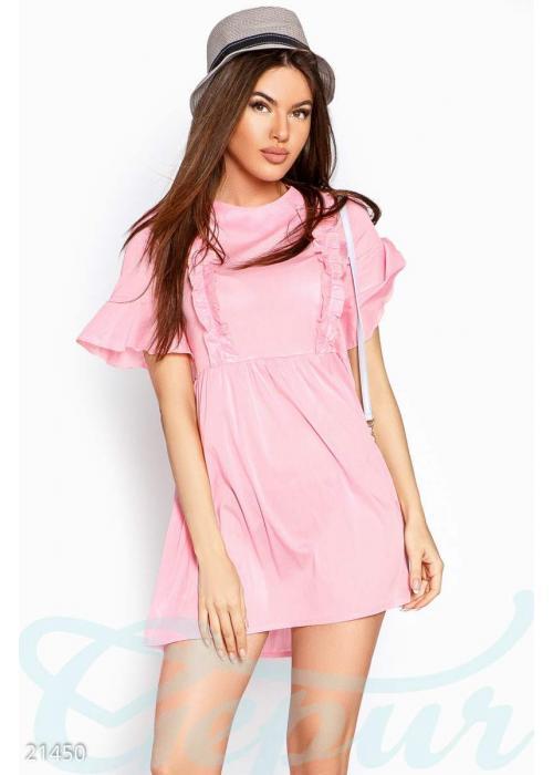 Летнее платье рюши 21450 купить по низкой цене в Украине — интернет-магазин Modesti