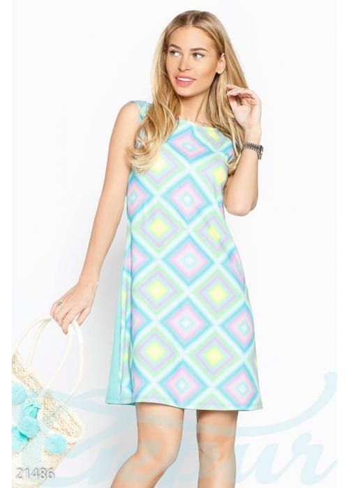 Платье трапеция бабочки 21486 купить по низкой цене в Украине — интернет-магазин Modesti