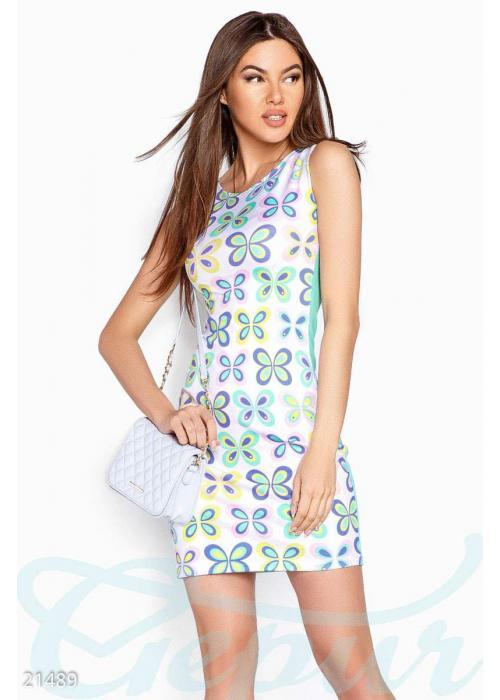 Платье трапеция бабочки 21489 купить по цене 690 грн. в Украине — интернет-магазин Modesti