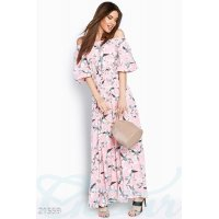 Женственное платье цветы