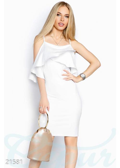 Платье тонкие бретели 21581 купить по низкой цене в Украине — интернет-магазин Modesti