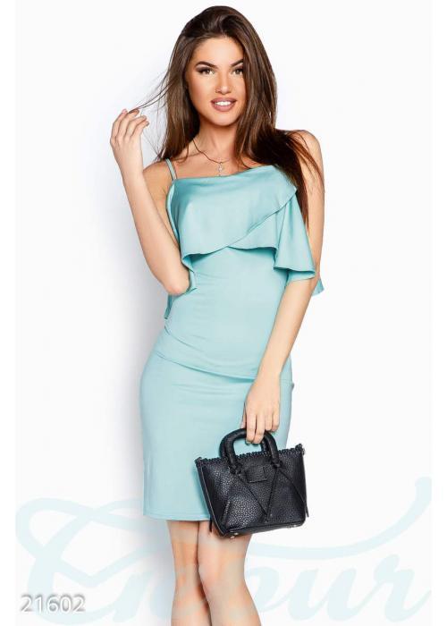 Платье тонкие бретели 21602 купить по низкой цене в Украине — интернет-магазин Modesti