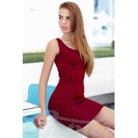 Облегающее платье рубчик